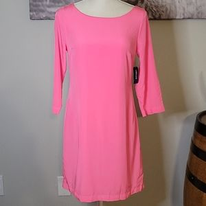 NWT Old Navy Pink 3/4 Sleeve Dress Size XS